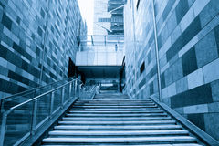 Modern building stairway Stock Photography