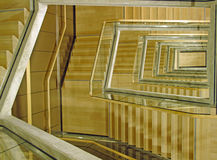 Modern Building Stairwell Stock Photography