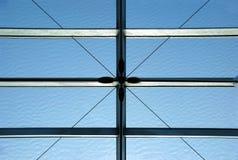MODERN BUILDING STEEL FRAMEWORK Stock Photography
