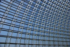 MODERN BUILDING STEEL FRAMEWORK Stock Photography