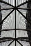 MODERN BUILDING STEEL FRAMEWORK Stock Photo