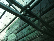 Modern building. Modern steel and glass building Royalty Free Stock Photo