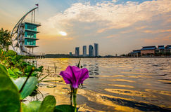 Modern Building Sunrise, Putrajaya VII Stock Image