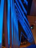 Modern building in Tallinn. Night illumination of modern building in Tallinn Stock Images