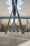 Modern Building of Technical University of Cartagena, Spain Stock Photos