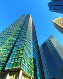 Modern building in Tokyo Royalty Free Stock Photo