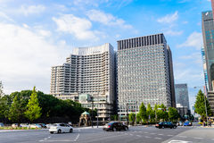 Modern Building of Tokyo Royalty Free Stock Photos
