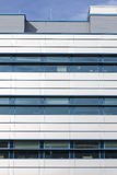 Modern building, toned image Stock Photos