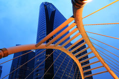 Modern building, Twilight Royalty Free Stock Images