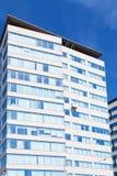 Modern building under blue sky Royalty Free Stock Photos