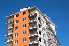Modern building under construction Royalty Free Stock Photography