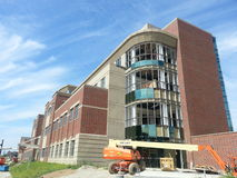 Modern Building Under Construction: Marshall University New Engineering Building Royalty Free Stock Photos