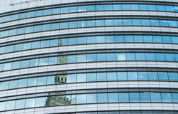 Modern building in Warshaw. Poland Stock Image