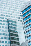Modern building in Warshaw. Poland Stock Photography
