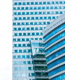 Modern building in Warshaw. Poland Royalty Free Stock Images