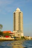 Bangkok, Tahiland - modern building at waterfront Royalty Free Stock Photography