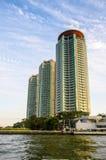 Bangkok, Tahiland - modern building at waterfront Stock Images