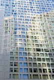 Modern building window pattern royalty free stock photo