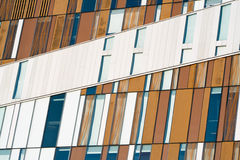 Modern building windows. Abstract modern building windows close up Stock Image