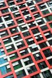 Modern Building Windows Stock Image