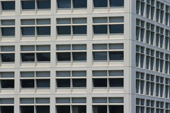 Modern Building Windows. Close up of the modern building windows Royalty Free Stock Images