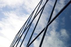 Modern building with windows Royalty Free Stock Images