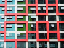 Modern building windows Royalty Free Stock Image