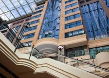 Modern Building With Atrium Stock Photo