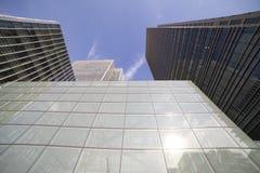 Modern buildings. Royalty Free Stock Photo