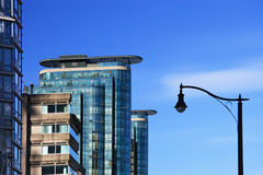 Modern Buildings. Modern Condominium. Downtown of Vancouver stock photography