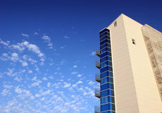 Modern buildings. A modern buildings with the serene sky Stock Photo