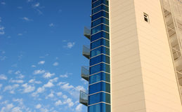Modern buildings. A modern buildings with the serene sky Royalty Free Stock Image