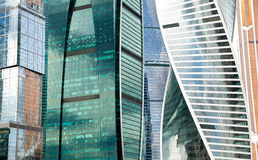Modern buildings abstract background Stock Photos