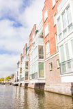 Modern buildings in Alkmaar, The Netherlands Royalty Free Stock Photography