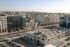 Modern buildings of Amman royalty free stock photography