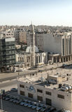 Modern buildings of Amman Stock Image