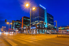 Modern buildings architecture of Alchemia complex in Gdansk Stock Images