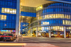 Modern buildings architecture of Olivia Business Centre in Gdansk Stock Photos