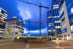 Modern buildings architecture of Olivia Business Centre in Gdansk Stock Photography