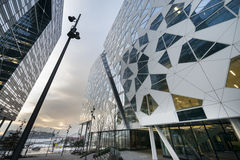 Modern buildings architecture in Oslo Stock Images