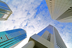 Modern buildings architecture Royalty Free Stock Images