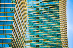 Modern buildings in Astana Royalty Free Stock Photo
