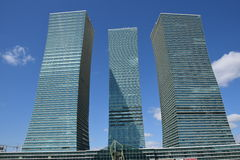 Modern buildings in Astana / Kazakhstan Stock Photography