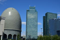 Modern buildings in Astana / Kazakhstan Stock Photos