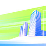 Modern buildings background Royalty Free Stock Photography