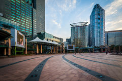 Modern buildings at Banqiao, in New Taipei City, Taiwan. Stock Photography