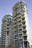 Modern buildings in Bat-Yam. Architecture modern buildings in Bat-Yam, Israel Stock Image