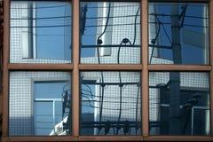 Modern buildings bejing china Royalty Free Stock Photo