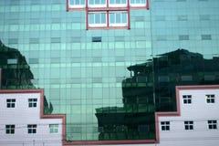Modern buildings bejing china Stock Photo