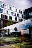Modern buildings in Berlin royalty free stock photography